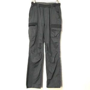 Men's utility track pant gray.